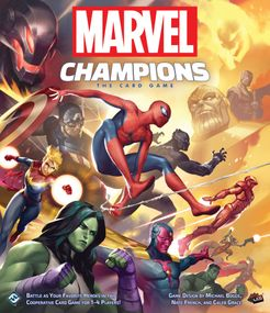 Marvel Champions: The Card Game Cover Artwork