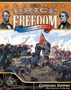 BOX SET 1861-1865 The Civil War Board Game