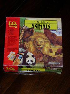 I Q  Games: Wild Animals | Board Game | BoardGameGeek