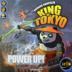 King of Tokyo: Power Up! Cover Artwork
