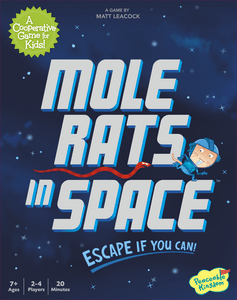 Mole Rats in Space Cover Artwork