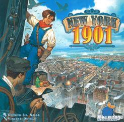 New York 1901 Cover Artwork