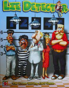 Lie Detector The Crime Solving Card Game Board Game Boardgamegeek