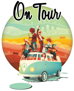 On Tour Cover Artwork