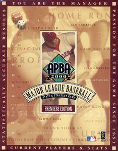 Apba Pro Baseball Board Game Boardgamegeek