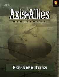 Axis & Allies Miniatures Expanded Rules | Board Game