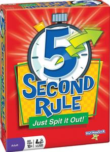 5 Second Rule | Board Game | BoardGameGeek