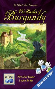 The Castles of Burgundy: The Dice Game Cover Artwork