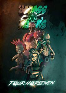 Badass Riders: Four Horsemen | Board Game | BoardGameGeek