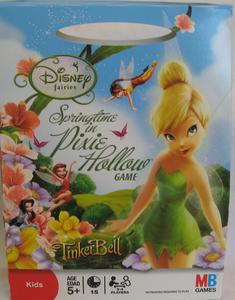 Disney Fairies Tinkerbell Springtime in Pixie Hollow Game | Board Game | BoardGameGeek