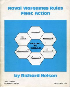 Naval Wargames Rules Fleet Action 1000 B C  to 500 A D