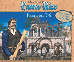 Puerto Rico: Expansions 1&2 – The New Buildings & The Nobles Cover Artwork