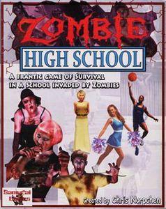 Juego de cartas de Zombie High School