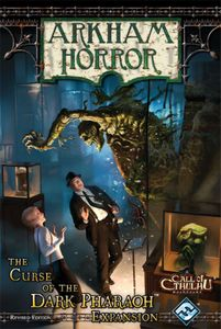 Arkham Horror: The Curse of the Dark Pharaoh Expansion (Revised