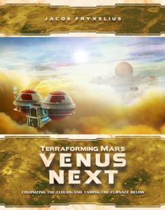 Terraforming Mars: Venus Next Cover Artwork