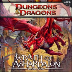 Dungeons Dragons Wrath Of Ashardalon Board Game Board Game