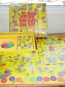 Rap Rat Video Board Game Board Game Boardgamegeek