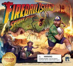 Fireball Island: The Curse of Vul-Kar – Spider Springs Cover Artwork
