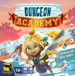 Dungeon Academy Cover Artwork