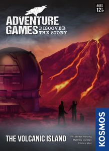 Adventure Games: The Volcanic Island Cover Artwork