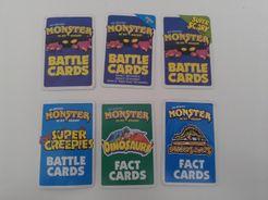 Cartes de combat Monster in My Pocket