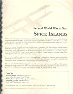 Second World War at Sea: Spice Islands | Board Game | BoardGameGeek