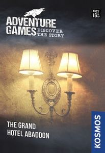 Adventure Games: Grand Hotel Abaddon Cover Artwork