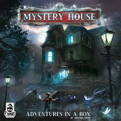 Mystery House: Adventures in a Box Cover Artwork