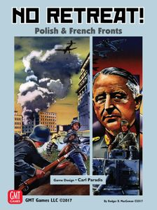 Gesellschaftsspiele No Retreat 3  The French and Polish Fronts