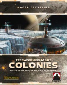 Terraforming Mars: Colonies Cover Artwork