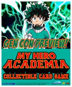 My Hero Academia Collectible Card Game Board Game Boardgamegeek