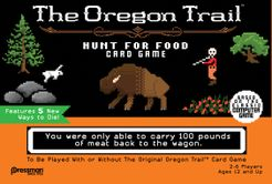 The Oregon Trail: Hunt for Food Card Game | Board Game | BoardGameGeek