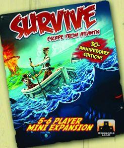 Survive: Escape from Atlantis! 5-6 Player Mini Expansion Cover Artwork