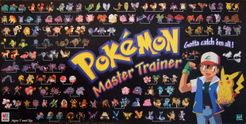Pokemon Master Trainer Board Game 1999 Black Choice Replacement Parts Pieces