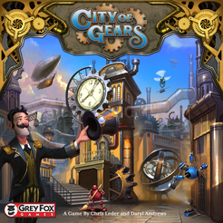 City of Gears Cover Artwork