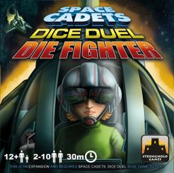 Space Cadets: Dice Duel – Die Fighter Cover Artwork