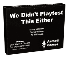 We Didn/'t Playtest This Pasted-On Theme at All Card Game