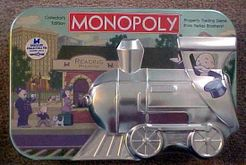 Monopolio: tren de hojalata de coleccionista