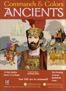 Commands & Colors: Ancients Cover Artwork