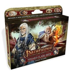 Pathfinder Adventure Card Game Class Deck Wizard Board Game