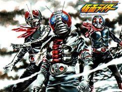 Kamen Rider: Operation Shocker   Board Game   BoardGameGeek