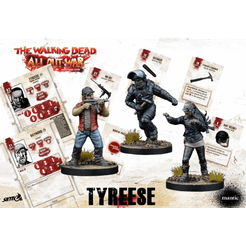 The Walking Dead All Out War Dice Booster