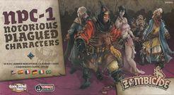 Zombicide: Black Plague – NPC-1 Cover Artwork