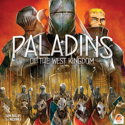 Paladins of the West Kingdom Cover Artwork