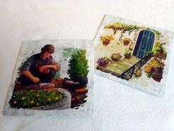 PATIOS: Manitas Promo Card Cover Artwork