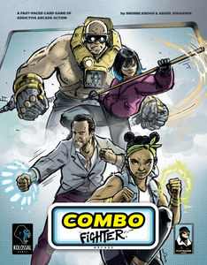 Combo Fighter Cover Artwork
