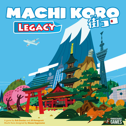 Machi Koro Legacy | Board Game | BoardGameGeek