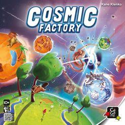 Cosmic Factory Cover Artwork