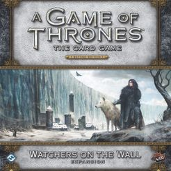 A Game Of Thrones The Card Game Second Edition Watchers On The