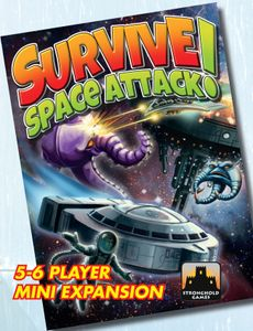 Survive: Space Attack! – 5-6 Player Mini-Expansion Cover Artwork